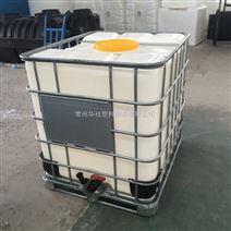 合肥耐撞击的食品级塑料方桶 带铁框