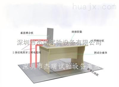 佛山静电放电实验桌价格,ESD静电放电桌