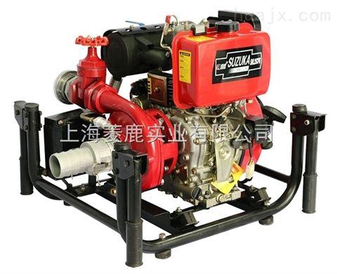 90m总扬程2.5寸柴油机真空自吸泵