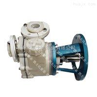 河北凯士比40FSB-30卧式工程塑料合金耐腐泵高温污水处理高浓度酸碱循环泵