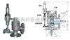 上海安全阀-A46F-25先导式安全阀
